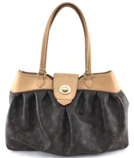 Preload https://item4.tradesy.com/images/louis-vuitton-boetie-22088-rare-long-strap-flap-turnlock-lv-tote-work-everyday-monogram-coated-canva-24009388-0-1.jpg?width=440&height=440