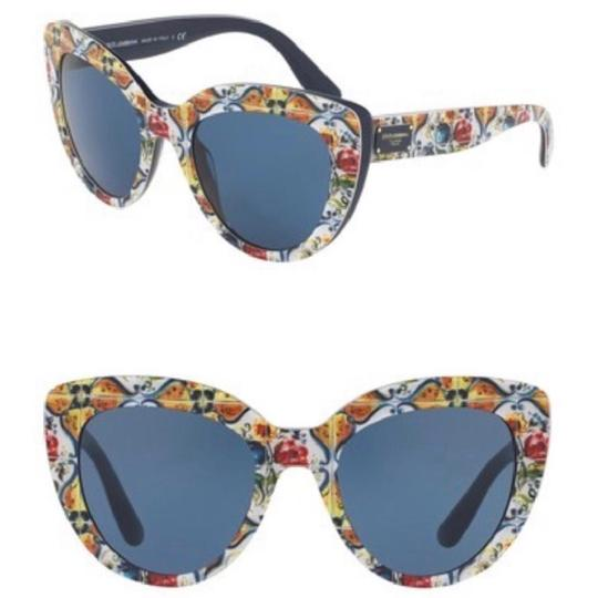 Preload https://item2.tradesy.com/images/dolce-and-gabbana-yellow-multi-color-spanish-tile-cat-eye-sunglasses-24009391-0-1.jpg?width=440&height=440