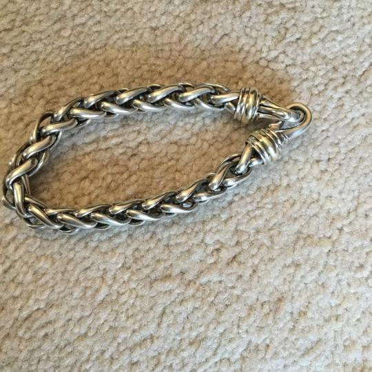 David Yurman gold and silver bracelet