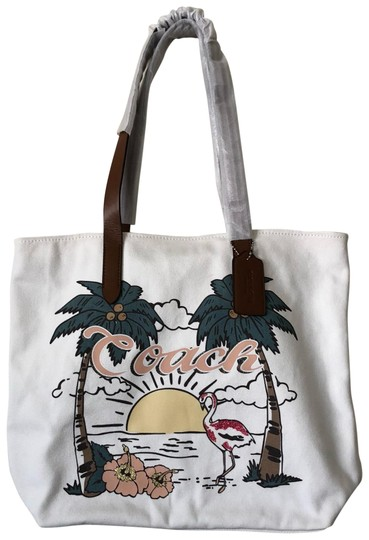 Preload https://item5.tradesy.com/images/coach-aloha-flamingo-canvas-tote-24009409-0-1.jpg?width=440&height=440