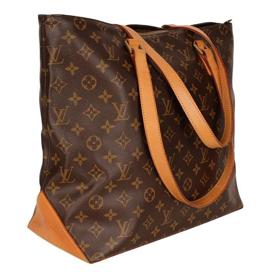 Preload https://item1.tradesy.com/images/louis-vuitton-cabas-mezzo-brown-6539-canvas-tote-24009415-0-0.jpg?width=440&height=440