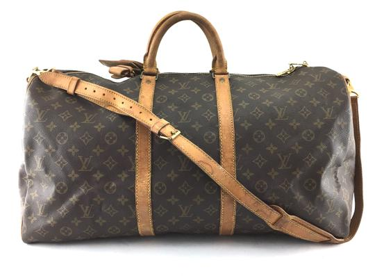 Preload https://item2.tradesy.com/images/louis-vuitton-duffle-keepall-21115-with-strap-55-bandouliere-tote-monogram-coated-canvas-weekendtrav-24009416-0-1.jpg?width=440&height=440