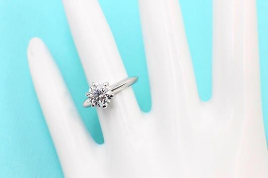 Tiffany & Co. I Vs2 Platinum and Diamond Solitaire Round 1.09ct Engagement Ring