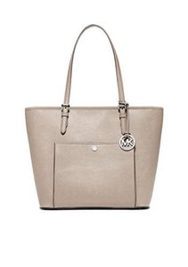 Michael Kors Jet Set Medium Handbag Medium Tote in cement