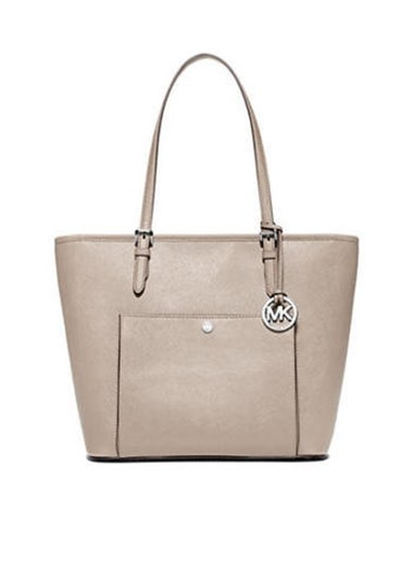 Preload https://item4.tradesy.com/images/michael-kors-jet-set-medium-top-zip-snap-cement-saffiano-leather-tote-24009438-0-0.jpg?width=440&height=440
