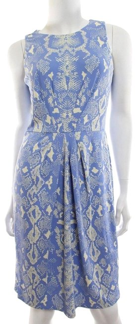 J.McLaughlin short dress Blue Snake Reptile Sheath on Tradesy