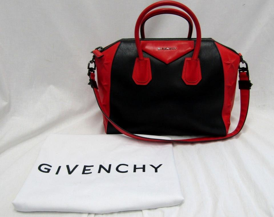 0629bc5a16 Givenchy Calfskin Leather Stars Logo Limited Edition Shoulder Bag Image 11.  123456789101112