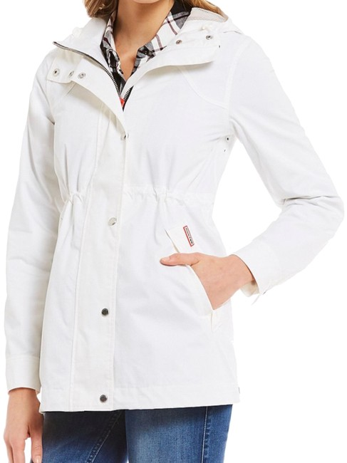 Preload https://item3.tradesy.com/images/hunter-white-smock-cotton-water-resistant-rain-spring-jacket-size-4-s-24009482-0-1.jpg?width=400&height=650