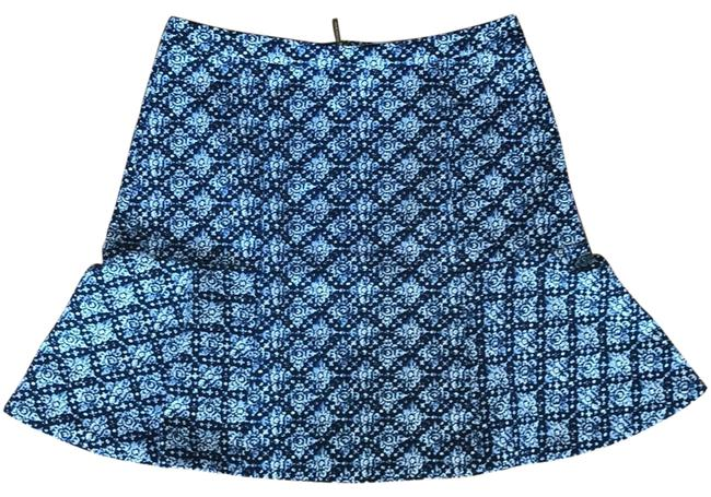 MICHAEL Michael Kors Mini Skirt navy print