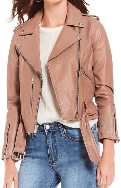 Preload https://item4.tradesy.com/images/gianni-bini-blush-noel-real-genuine-leather-motorcycle-jacket-size-2-xs-24009493-0-1.jpg?width=400&height=650
