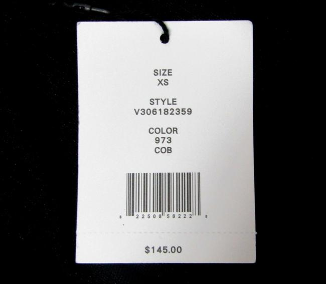 Vince Two-tone Lightweight Jersey Top navy black