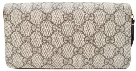 Gucci GUCCI GG Supreme Zip Around Wallet 410102