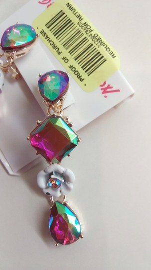 Betsey Johnson Betsey Johnson New Butterfly Necklace and Earrings