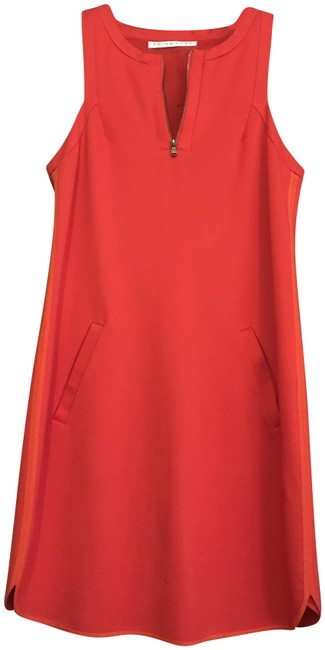 Preload https://img-static.tradesy.com/item/24009600/trina-turk-orange-fall-sleeveless-shift-with-zipper-short-casual-dress-size-2-xs-0-1-650-650.jpg