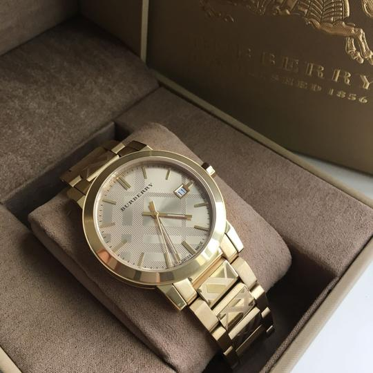 Burberry BRAND NEW Burberry Gold Unisex BU9038 Watch