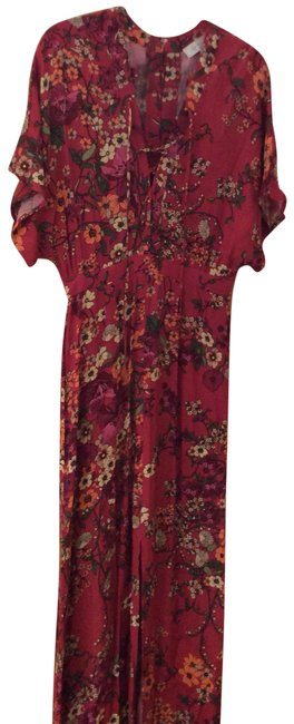 Preload https://item3.tradesy.com/images/nordstrom-mauve-floral-long-casual-maxi-dress-size-6-s-24009642-0-1.jpg?width=400&height=650