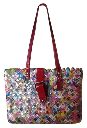 Preload https://img-static.tradesy.com/item/24009651/nahui-ollin-purse-multicolor-candy-wrappers-tote-0-1-540-540.jpg