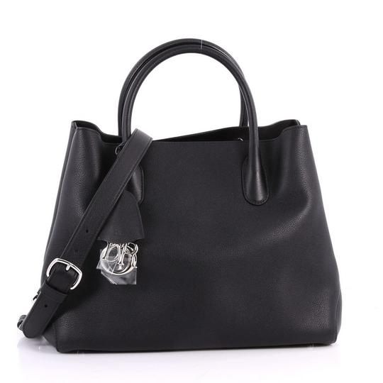 Preload https://item5.tradesy.com/images/dior-open-large-black-leather-tote-24009664-0-0.jpg?width=440&height=440