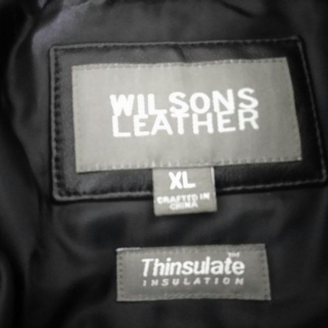 Wilsons Leather Removable Lining Trench Coat
