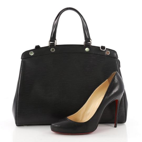 Louis Vuitton Epi Leather Tote in Black