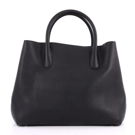 Dior Leather Tote in black