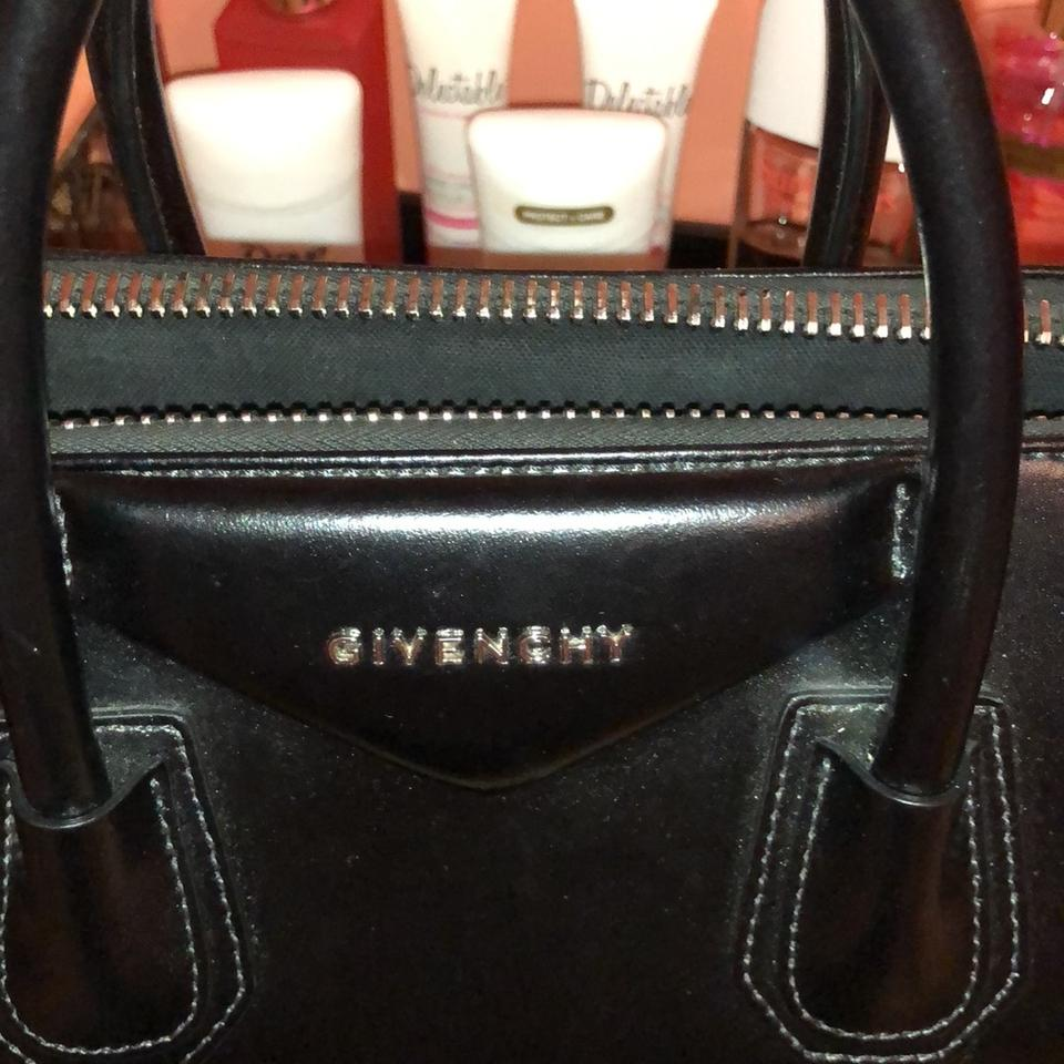 7a9eaadc0063 Givenchy Antigona Medium Black Leather Tote - Tradesy