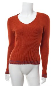 M Missoni Lace-up Ribbed Sweater