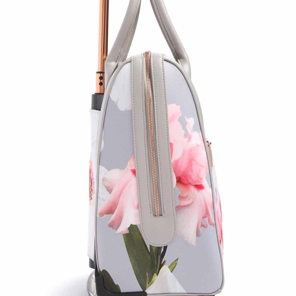 df8e8fd38 Ted Baker Ordina Chatsworth Bloom Mid Grey Polyester Weekend Travel ...