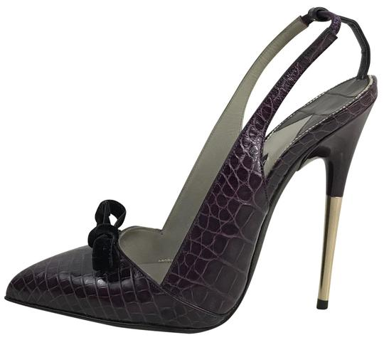 Preload https://img-static.tradesy.com/item/24010414/tom-ford-purple-vintage-alligator-slingback-stiletto-bow-heels-fits-7-pumps-size-eu-38-approx-us-8-r-0-1-540-540.jpg