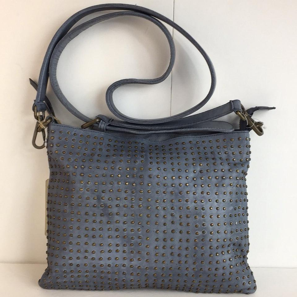 "New ""platania-italy"" Made In Italy Fully Studded Dark Blue Leather ... 86e0434947"