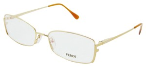 Fendi NEW Authentic FENDI F 960 714 Gold 52mm Rx Eyeglasses 52-16-135
