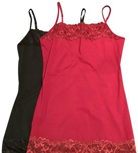 Maurices Top Black, Maroon