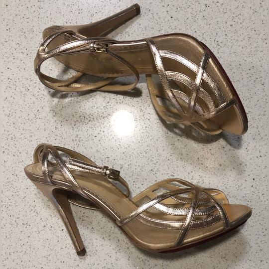 Charlotte Olympia Rose Gold Pumps