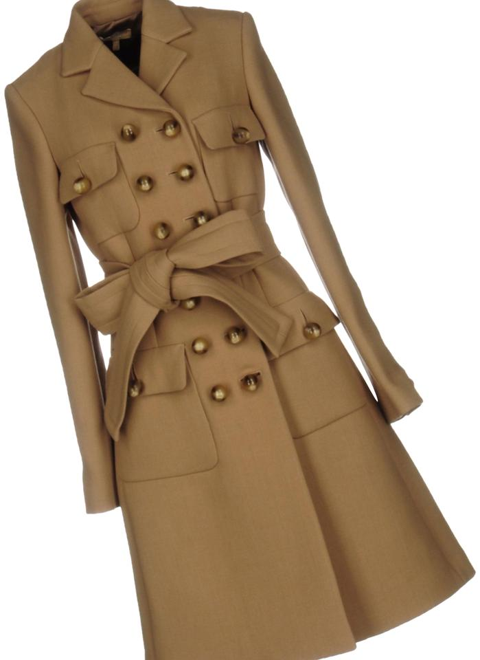 great discount sale hot sale another chance Camel Military Style Wool Coat