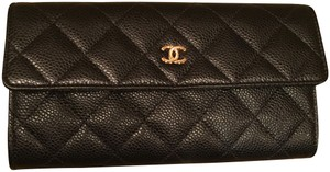 4625e03c2627 Chanel New Classic Flap Long Wallet. Chanel Black Caviar ...