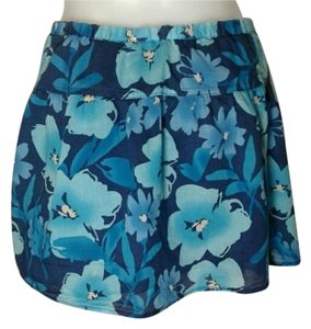 Aéropostale Blueskirt Flowerskirt Mini Skirt Blue