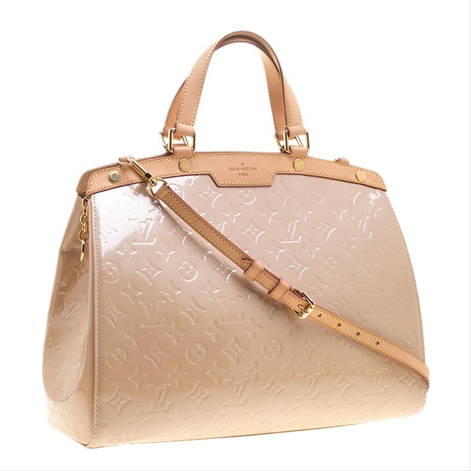 cee8666de6795 Louis Vuitton Florentine Brea Rose Monogram Vernis Gm Pink Fabric ...