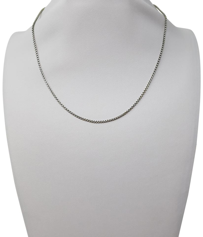 949053a8d5b David Yurman 14K yellow gold sterling silver David Yurman Box Chain necklace  Image 0 ...