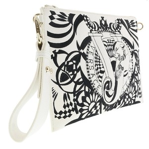 Versace Jeans Collection White Clutch