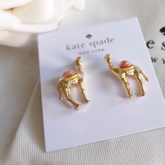 Kate Spade Kate Spade Spice Things Up Camel Earrings Image 3