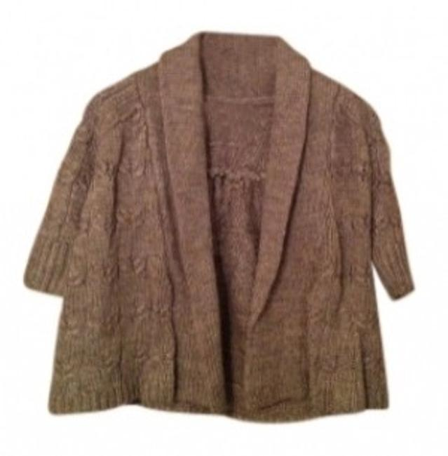Preload https://item3.tradesy.com/images/ann-taylor-loft-oatmeal-cozy-cable-sweater-cardigan-size-2-xs-24012-0-0.jpg?width=400&height=650