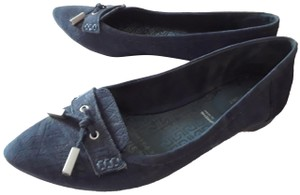 Rockport Adidas Suede Leather Navy Blue Flats