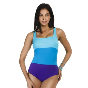 Miraclesuit Miraclesuit Spectra square neck one piece swim