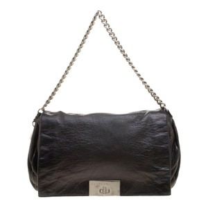 Céline Metallic Leather Shoulder Bag