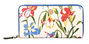 Tory Burch TORY BURCH ROBINSON FLORAL ZIP CONTINENTAL WALLET