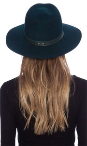 Janessa Leone Janessa Leone Charles Hat with Lambskin Leather band