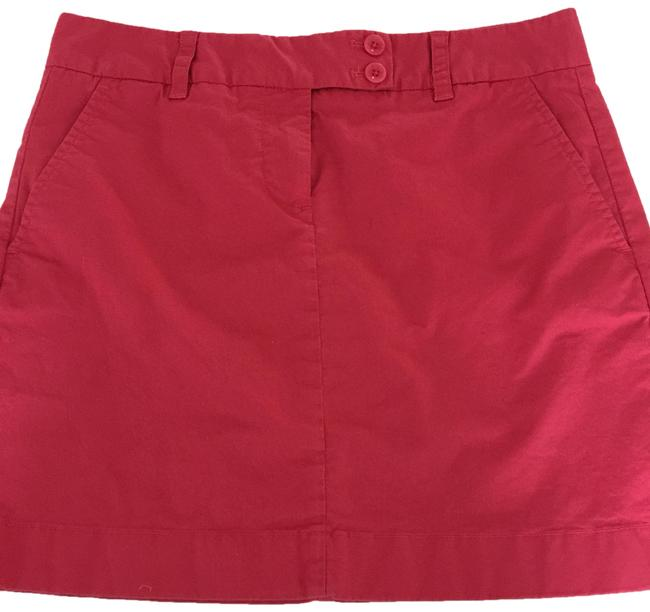 Item - Nantucket Red Skirt Size 6 (S, 28)