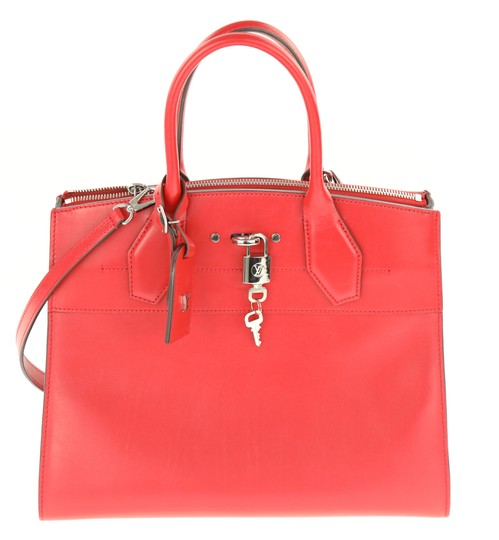 Preload https://img-static.tradesy.com/item/24012845/louis-vuitton-cite-city-steamer-steamer-mm-rubis-red-leather-satchel-0-1-540-540.jpg