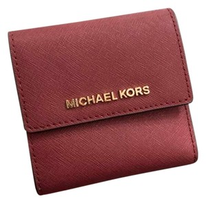 c6f18a41d079 Michael Kors Michael Kors Small Trifold Wallet Card Case Carryall Jet set  travel
