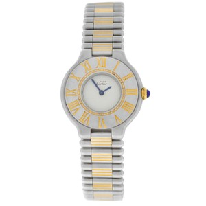 Cartier Ladies Cartier Must de Cartier Bullet Bracelet Quartz Steel Gold 28MM